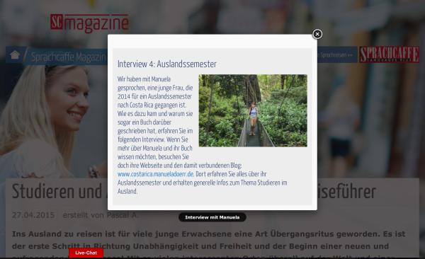 Sprachcaffe Magazin Auslandssemester