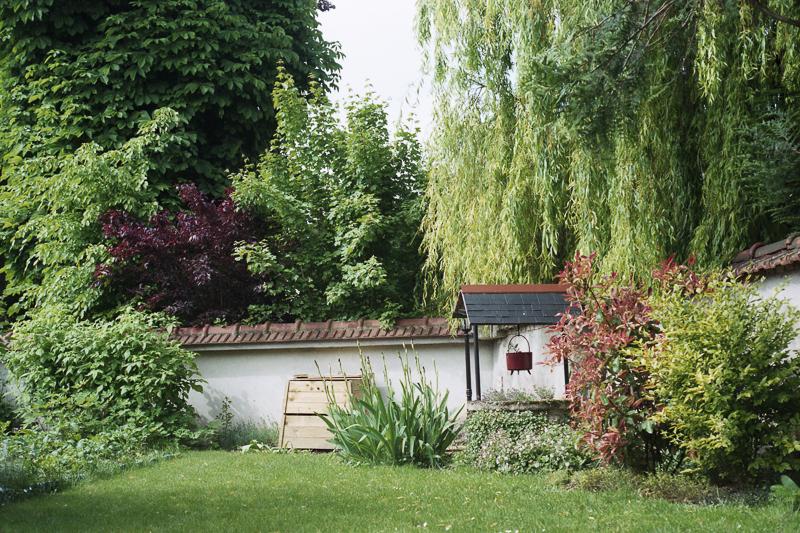 Garten in Frankreich, Champagne Ardenne
